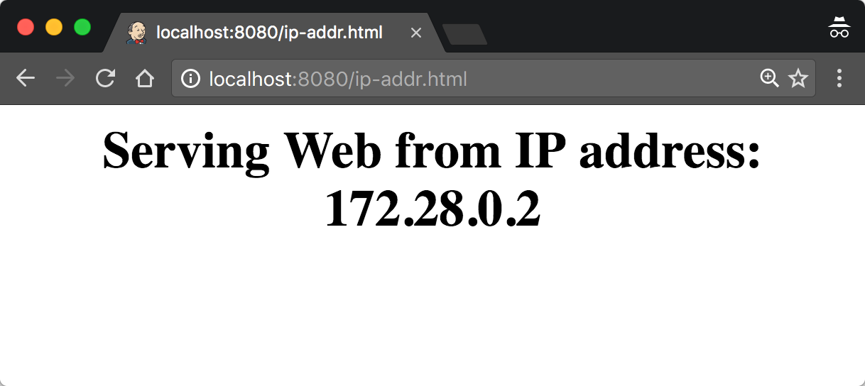 Nginx IP Address